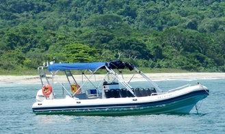 Hot-N-Fun a RIB for Rental in Ilha Bela, São Sebastião, SP