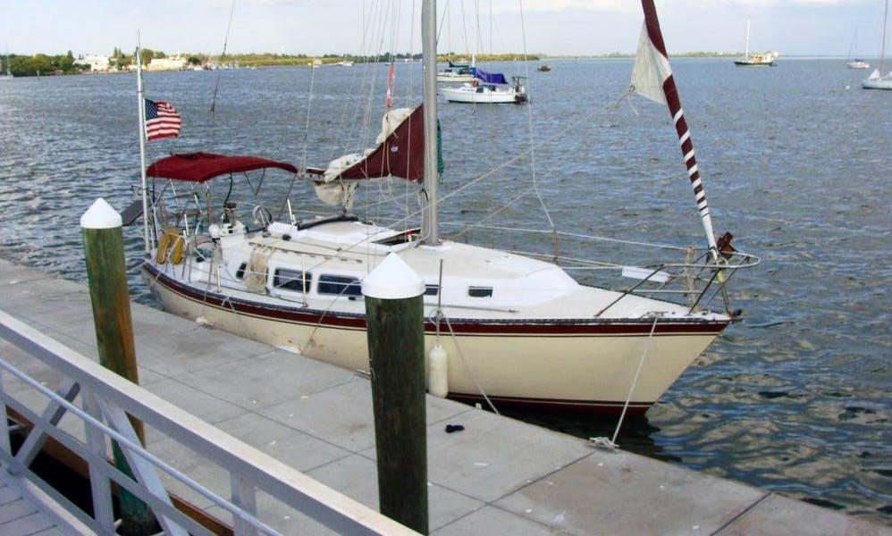 33ft 'Zefiro' Sailing Monohull in Bradenton Beach, Florida