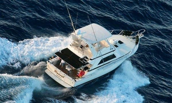 """Enjoy 43 ft """"The Rascal"""" Fishing Charter in Wailuku, Hawaii"""