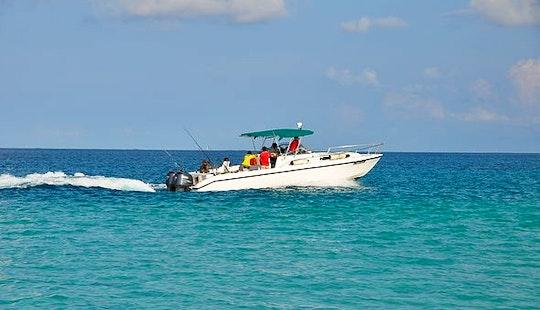 Fishing Charter On 33ft Sports Fisherman Yacht In Male, Maldives