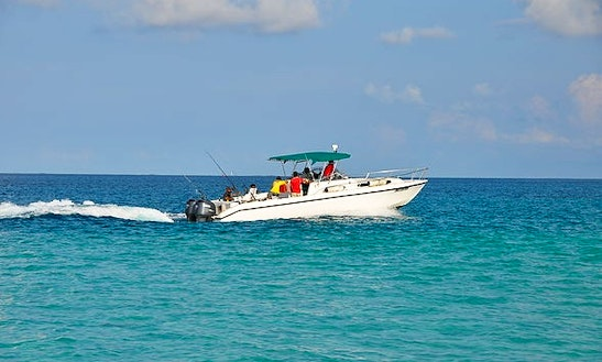 Fishing Charter On 33ft Sports Fisherman Yacht In Male, Maldives