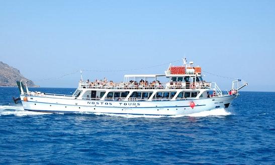 'm/v Kalidon' Boat Day Cruises In Lasithi