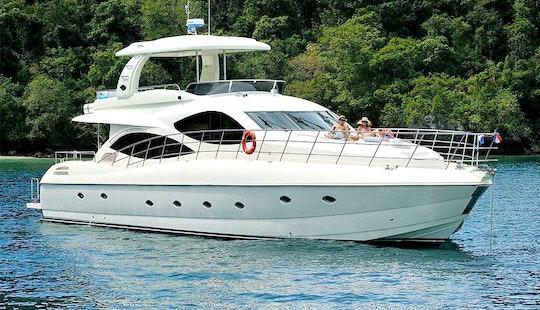 Enjoy My Lamberti 80 Ft Motor Yacht In Phuket, Chang Wat Phuket