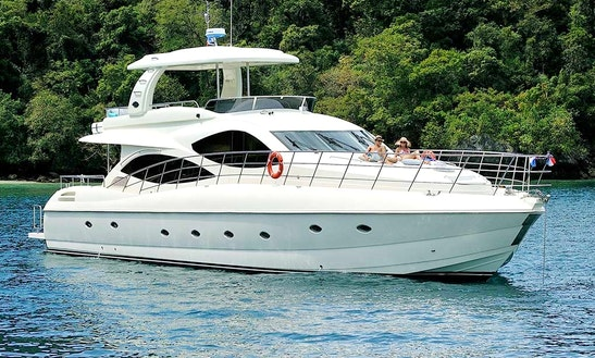Enjoy My Lamberti 80 Ft Motor Yacht In Phuket, Chang Wat Phuket