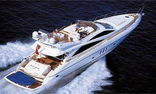 Charter 66' Sunseeker Manhattan Yacht In Marbella