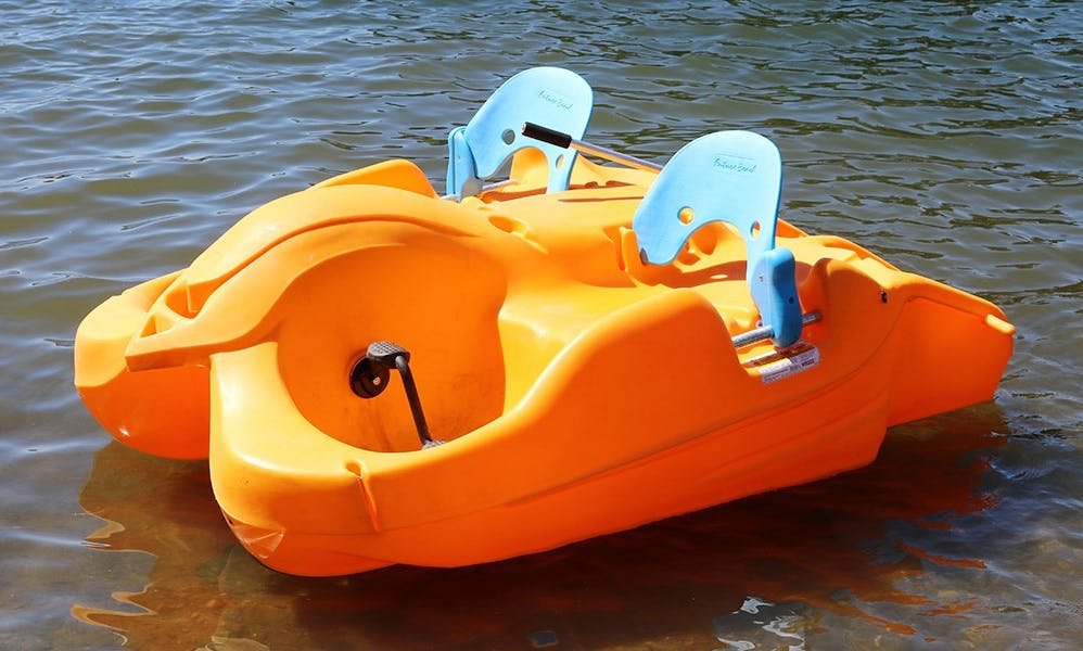 Rent a pedal boat and enjoy fantastic views of in Seattle, Washington