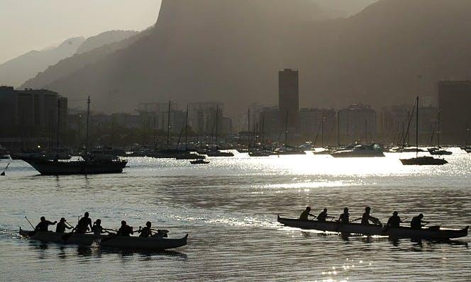 Ocean Canoeing Tour in Rio de Janeiro, Brazil