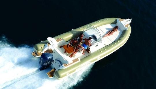 Capelli 850 350hp Rib Rental In Bonifacio
