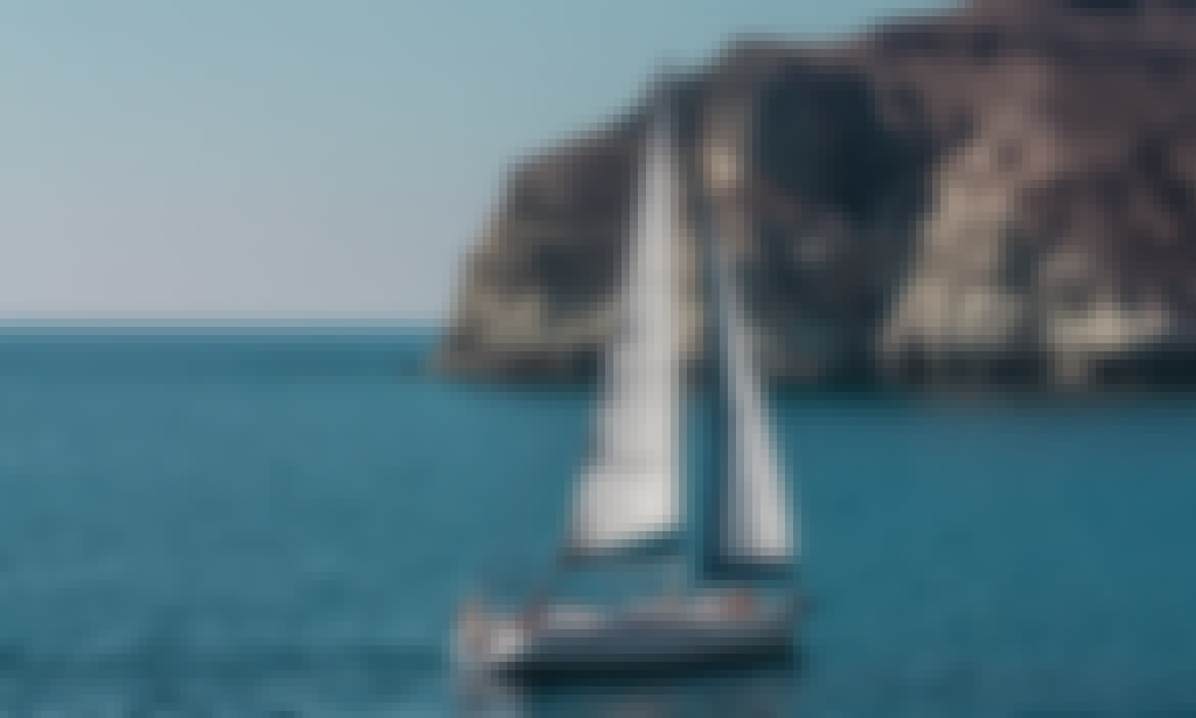 "Sailing Charter On 49ft ""Barca"" Cruising Monohull In Santorini, Greece"