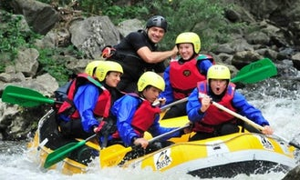 Rafting in the Pyrenees Audoises
