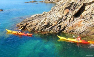 Sea Kayaking in the Pyrenees Orientales Argeles sur Mer