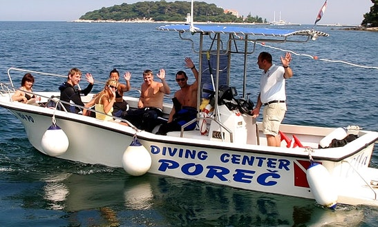 Boat Diving Trips & Padi Courses In Poreč