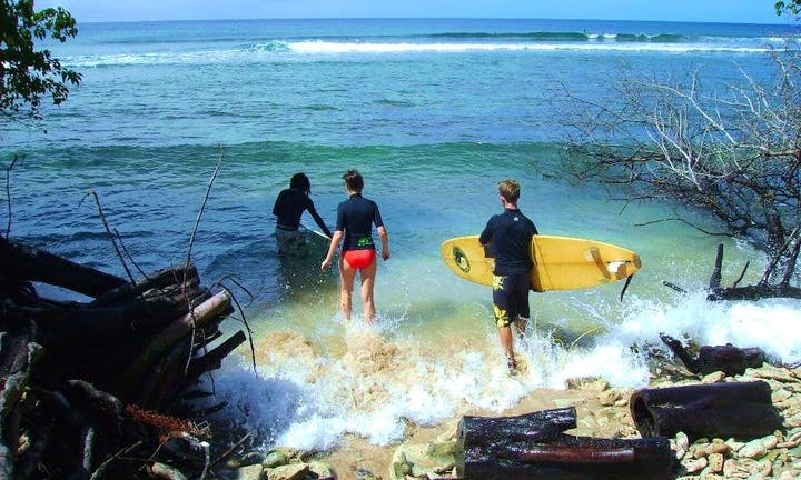 Surfing Lessons In Western Tobago