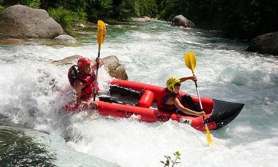 Canoe Rafting In Breil-sur-roya