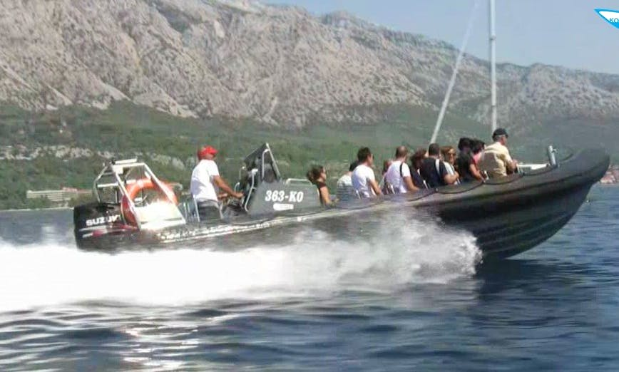 Speed Boat Excursion to Mljet Island, Croatia