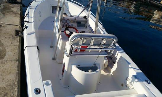 Rent Tiburon 250 Power Boat In Korčula