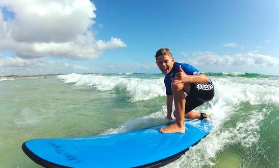 Learn To Surf In Kingscliff