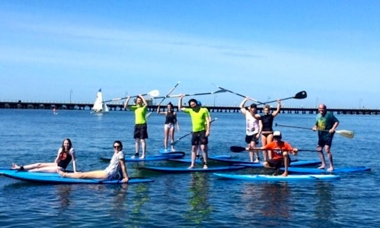 Paddleboard Tours & Lessons In Saint Kilda West, Australia