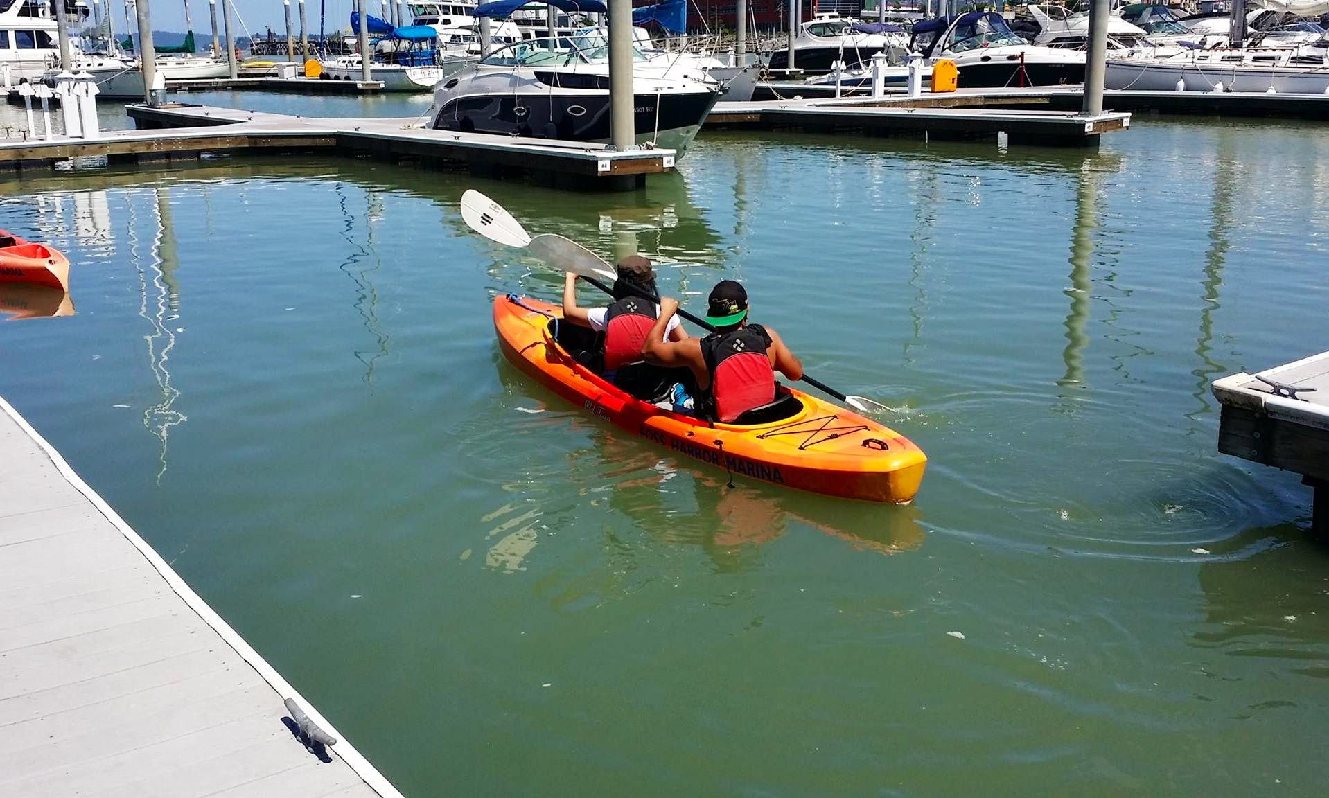 Double Kayak Rental in Tacoma, Washington