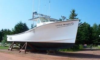 "44' Head Boat ""Little Moses"" Fishing Trips in Prince Edward Island, Canada"