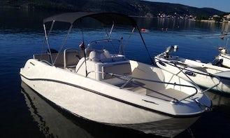 Deck Boat Rental in Poljica