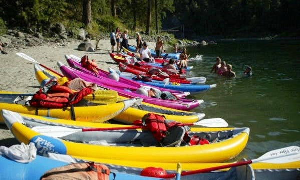 Double Kayak Rafting Trips in Harpers Ferry