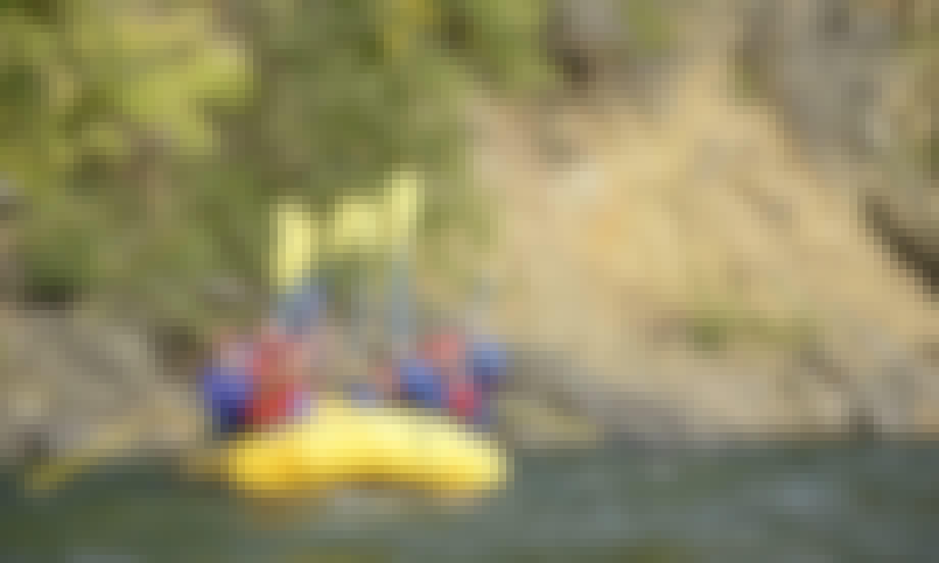 Canyon Rafting Trips in Cariboo B
