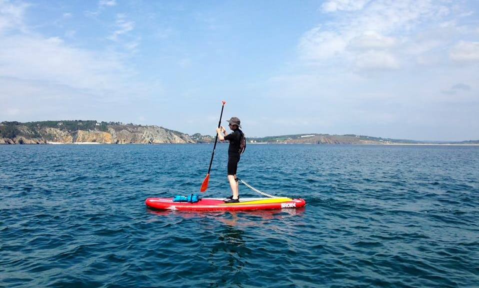 Stand Up Paddleboard Rental in Crozon