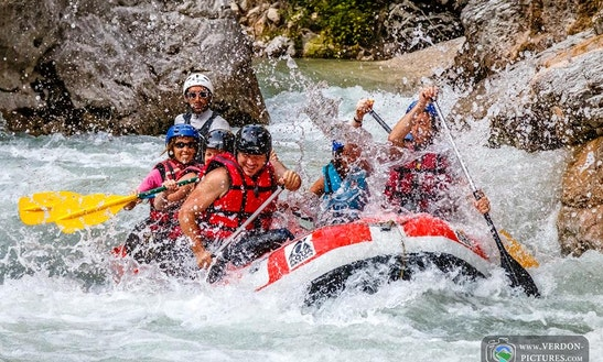 Exciting Rafting Trips For 7 Years Old And Above In Castellane, France