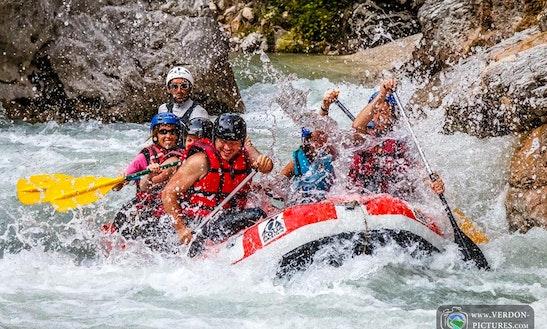 Rafting Trips In Castellane, France