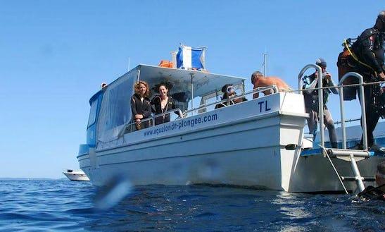 Boat Diving Trips & School In La Londe-les-maures
