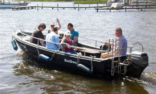 'sea Lion' Motor Boat Hire In Heidesee