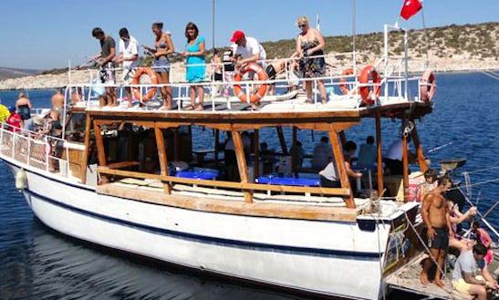 Trawler Fishing Trips In Mugla, Turkey