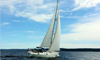 "37' Cruising Monohull ""Bateau Du Vent"" Trips in Calgary, Canada"