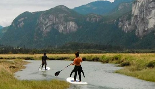Stand Up Paddleboard Rental In Squamish, Canada