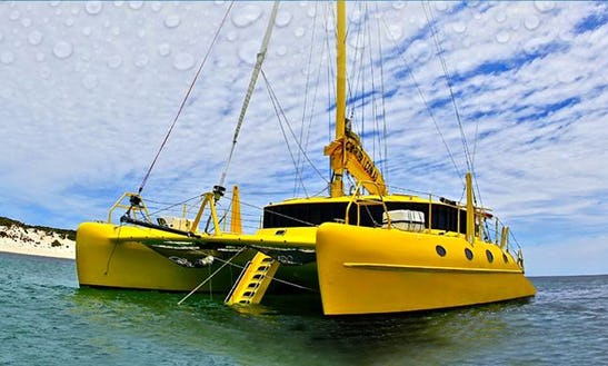 Enjoy 41 Ft 'capella' Sailing Catamaran Tours & Charters In Exmouth, Western Australia
