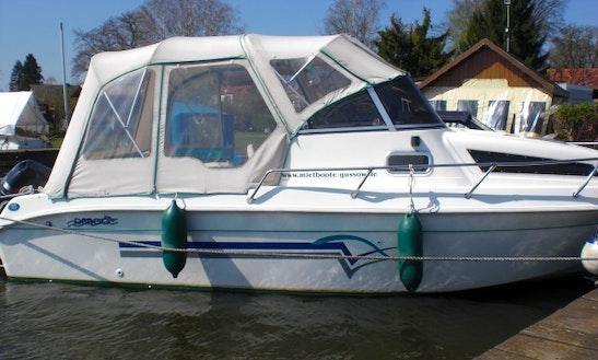 'drago 640' Cuddy Cabin Boat Hire In Heidesee