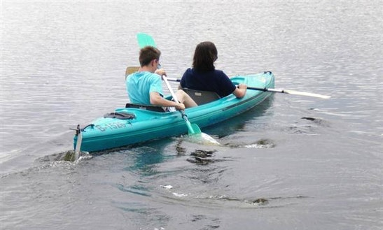 2 People Canoe Hire In Heidesee