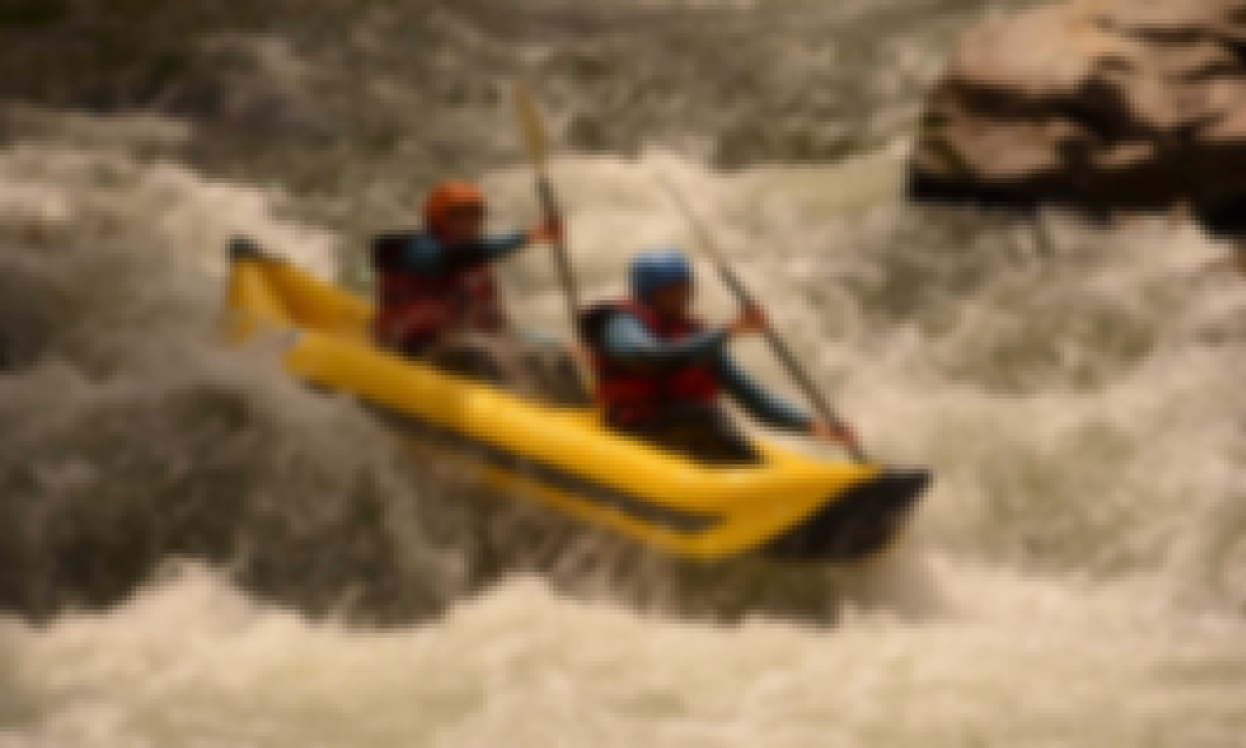 Inflatable Kayak Trips & Courses in the Aude River Gorges