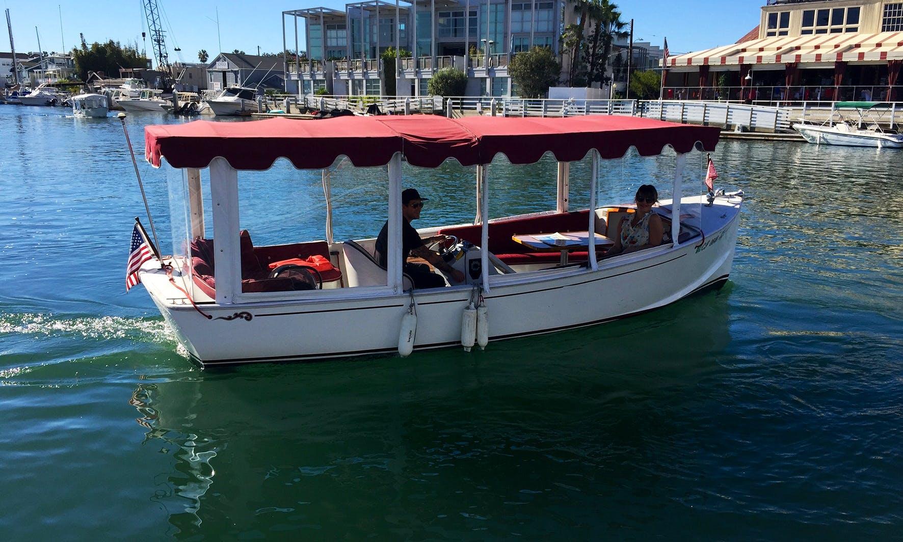 Boat Tour In Newport Beach