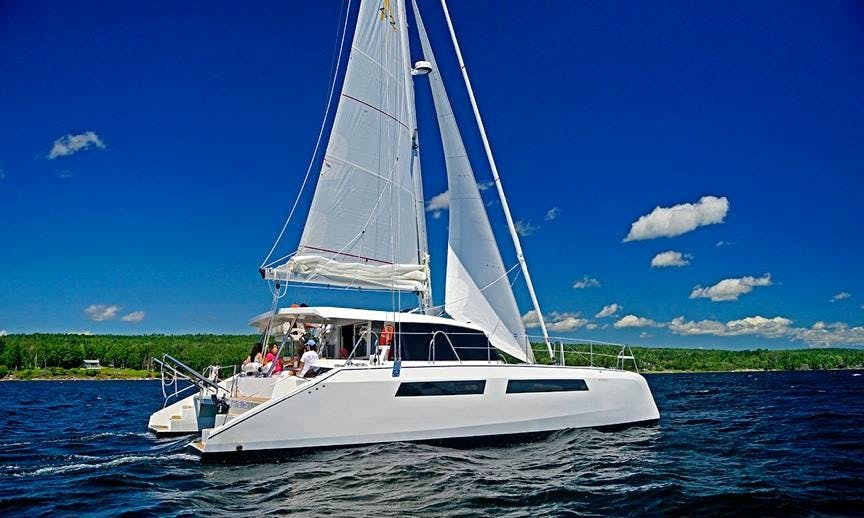 42ft Alpha Sailing Catamaran Boat Charter in Victoria Subdivision, Canada