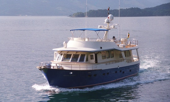Charter This Highlaner Trawler Maclaren In Guarujá