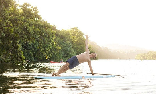Stand Up Paddle Yoga Lessons In Austin