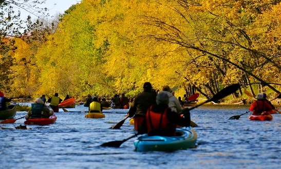 Tandem Kayak Rental In Shawano
