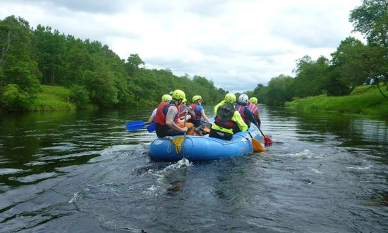 White Water Rafting In Aviemore