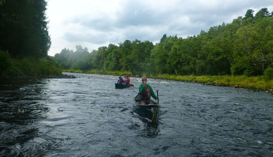 Canoe Lesson In Aviemore