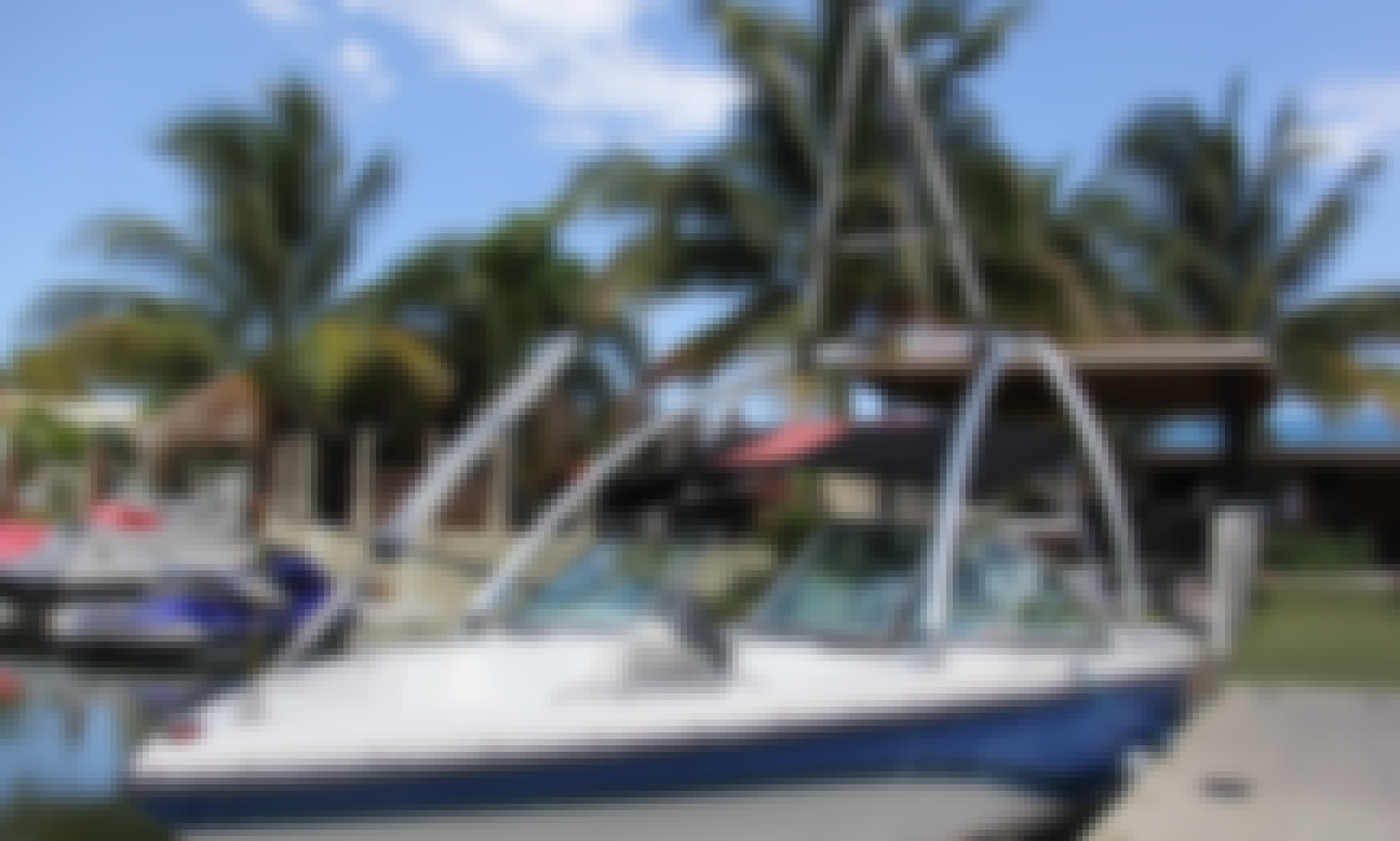 Nautique 206 Boat Waterskiing in Pompano Beach, Florida