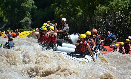 White Water Rafting Trips For Up To 8 People In San José De Maipo, Chile