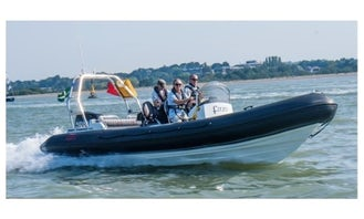 Power Boat Lesson In Exmouth