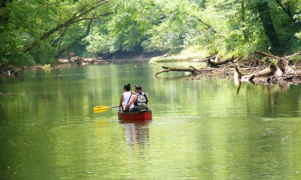 Red River Canoe Adventure Tour in Stanton